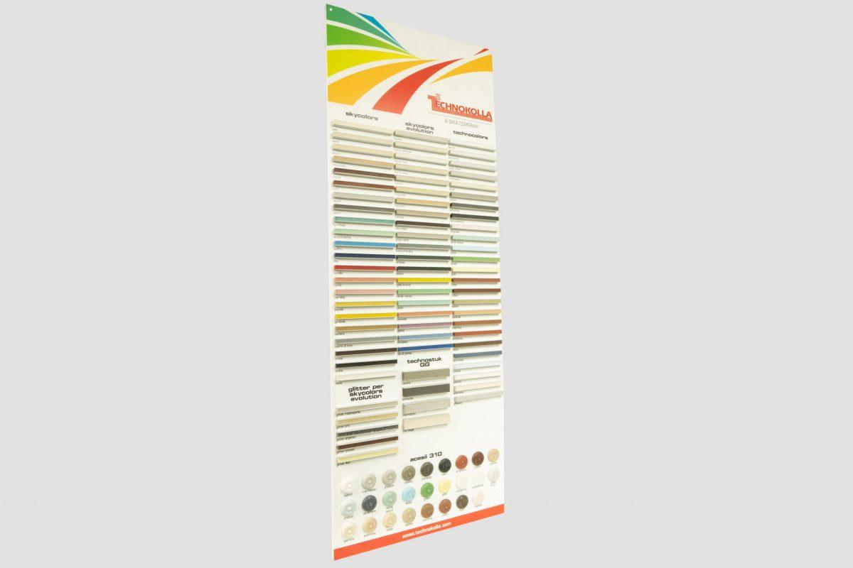 PVC board – direct digital print on the board